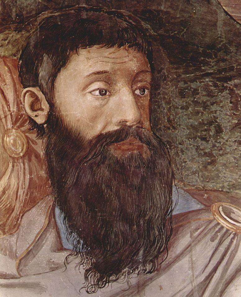 Аньоло Бронзино. Переход израильтян через Красное море, фрагмент. Фрески Палаццо Веккьо