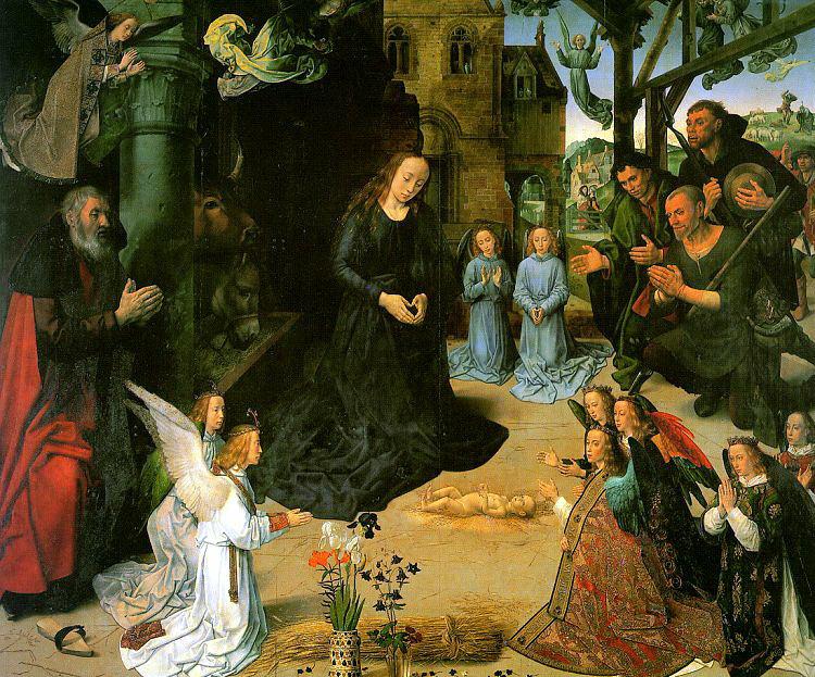 Хуго ван дер Гус. Рождество Христа