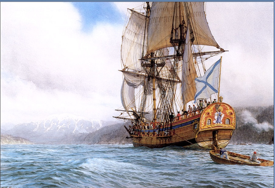 Марк Майерс. Парусное судно 4