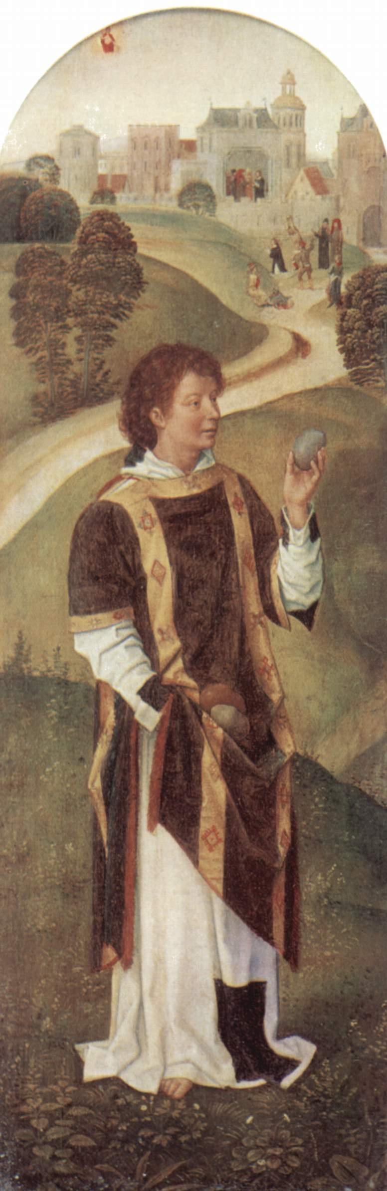 Hans Memling. Saint Stephen