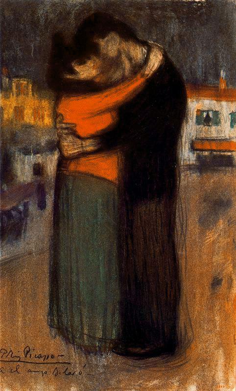 Пабло Пикассо. Объятия