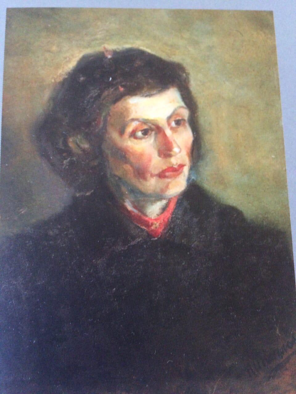 Nikolay Ivanovich Kozlov. Female portrait