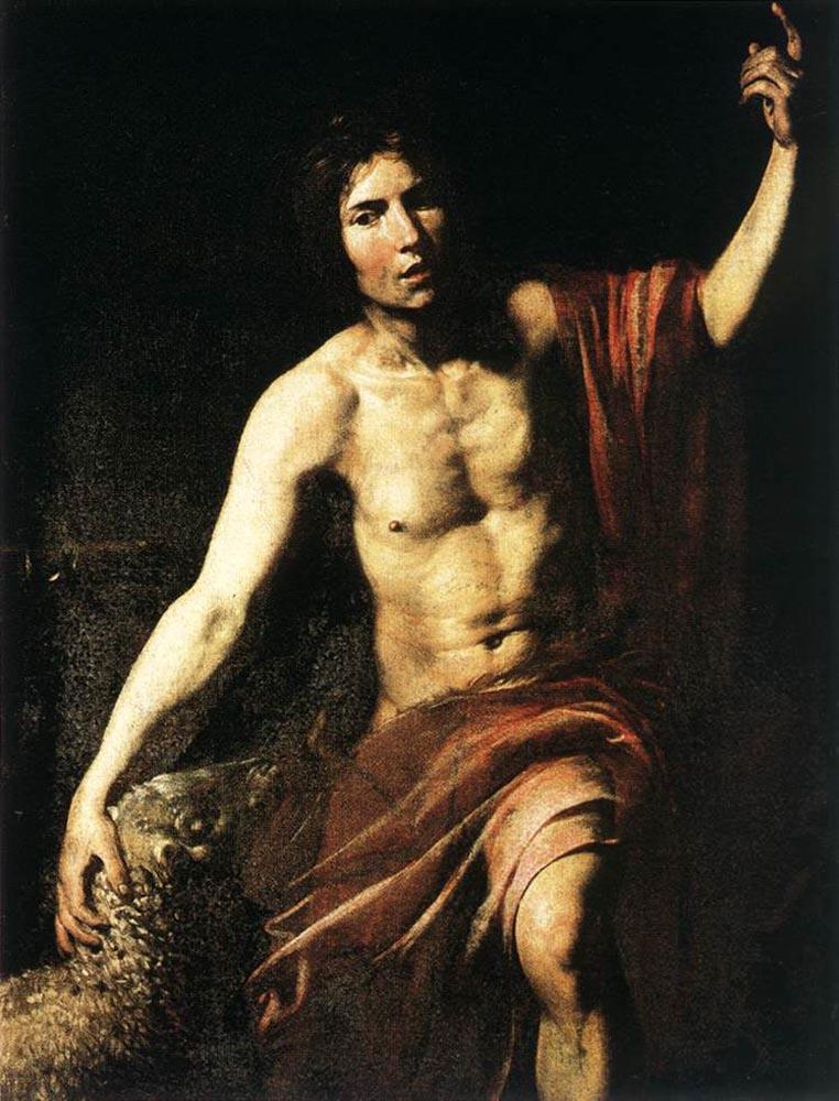Валантен де Булонь. Святой Иоанн Креститель