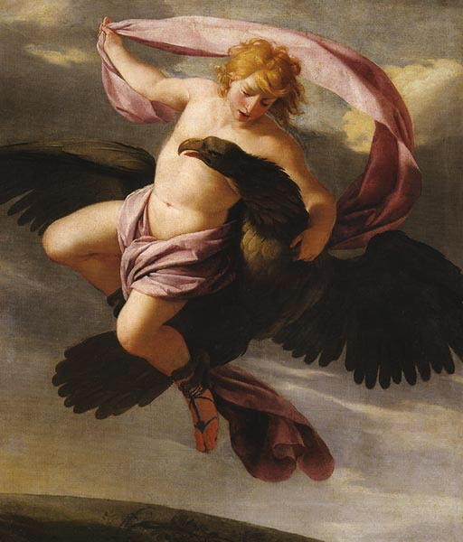 Ezstache Lesuer. The Abduction Of Ganymede
