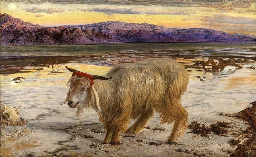 William Holman Hunt. Scapegoat