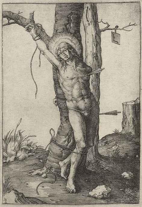 Лукас ван Лейден (Лука Лейденский). Святой Себастьян