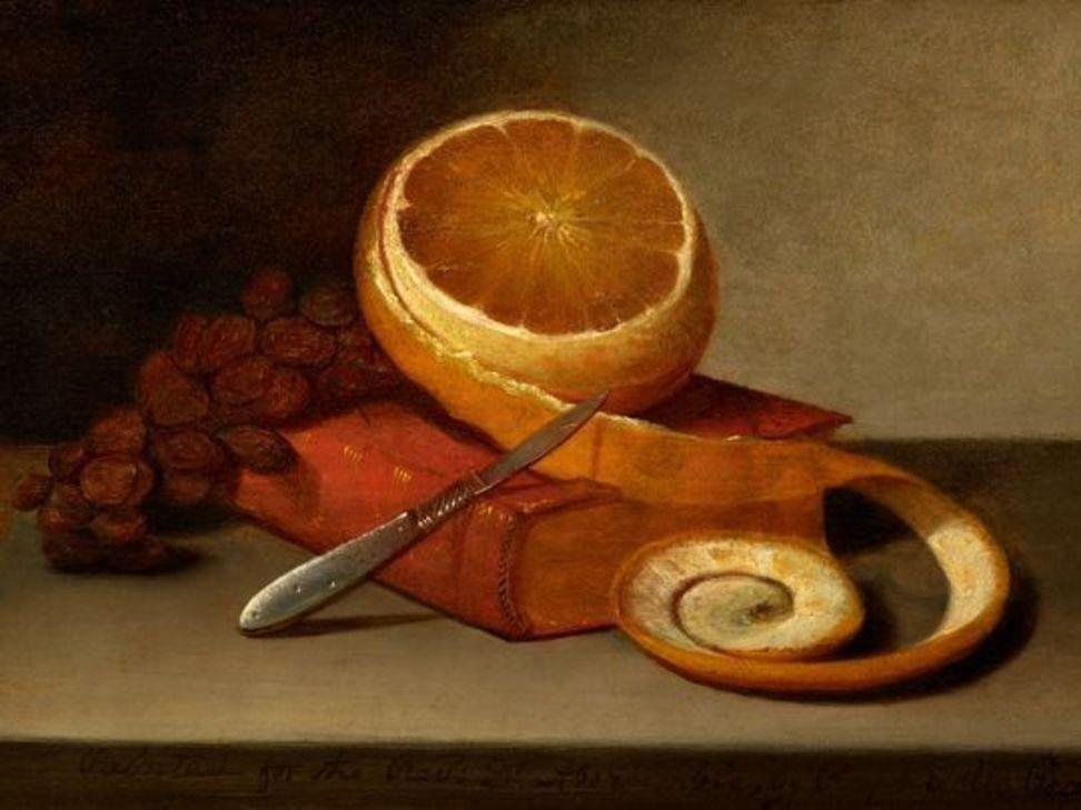 Рафаэль Пил. Апельсин и книга