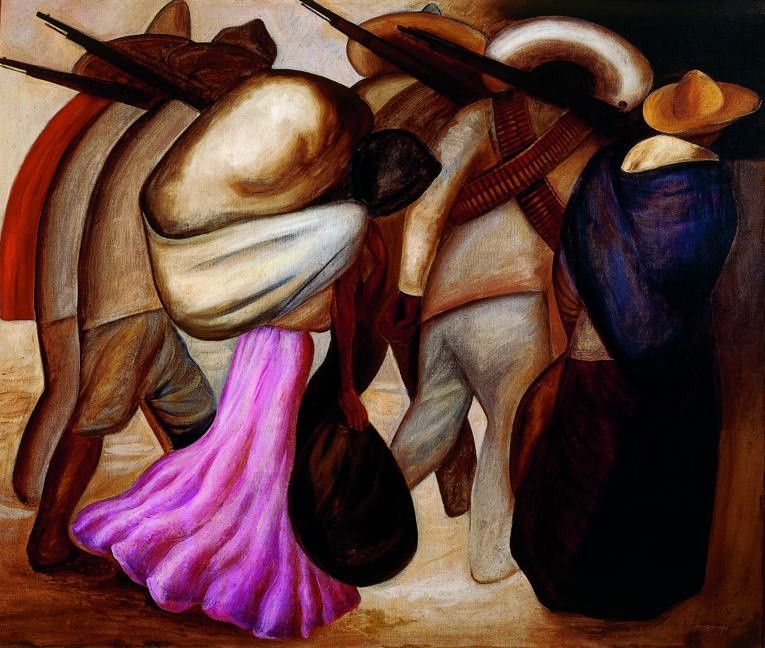 Хосе Клементе Ороско. Женщины-солдаты
