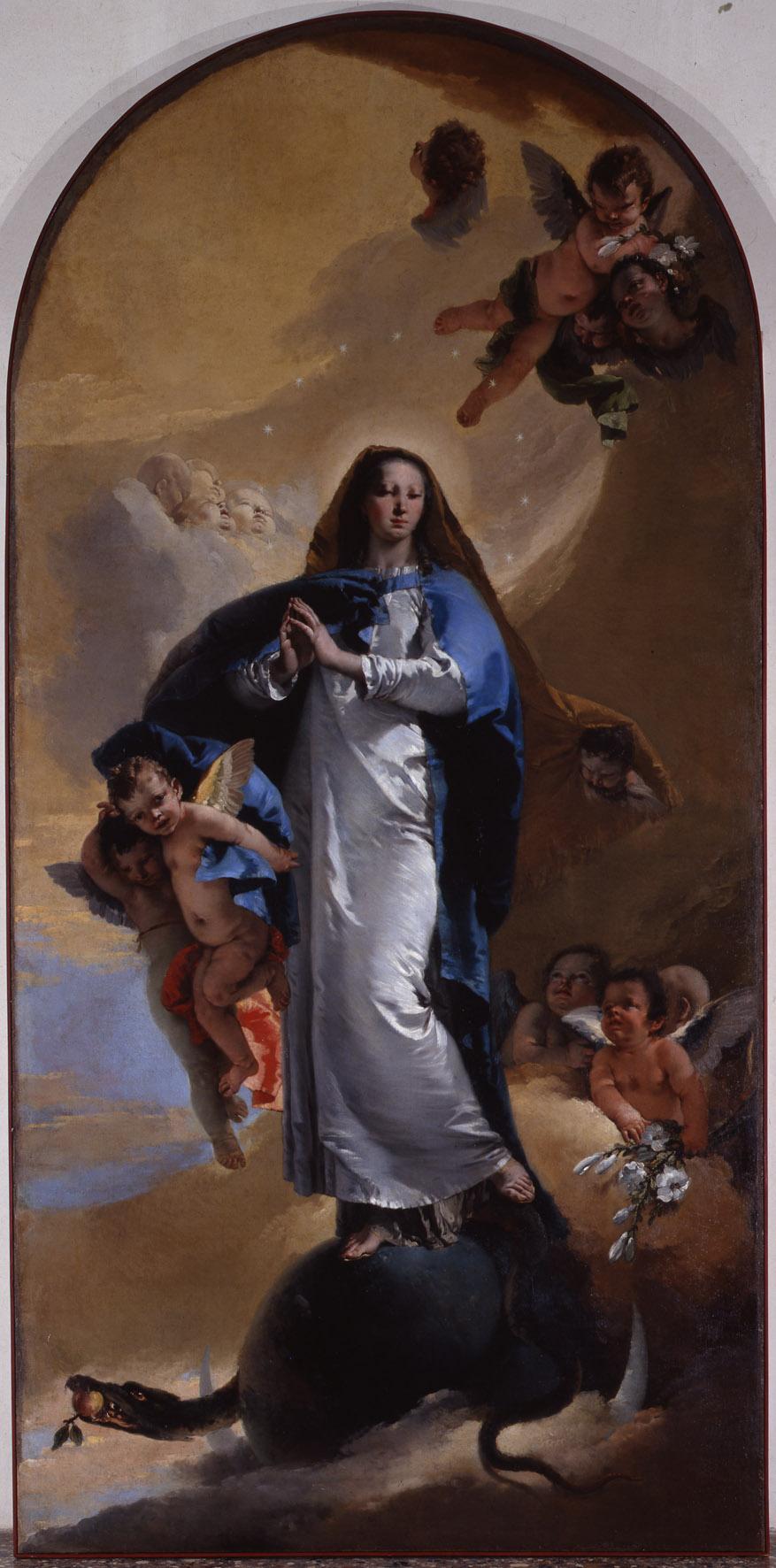 Giovanni Battista Tiepolo. Immaculate Conception