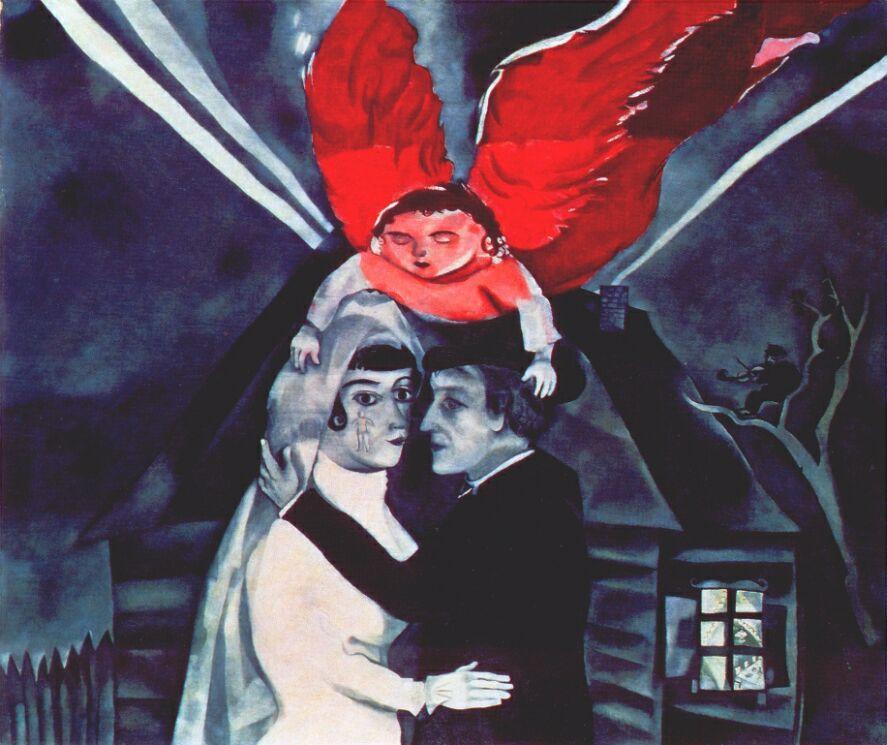 Марк Захарович Шагал. Свадьба