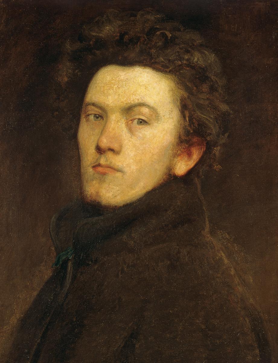 Bertalan Sekey. Self-portrait