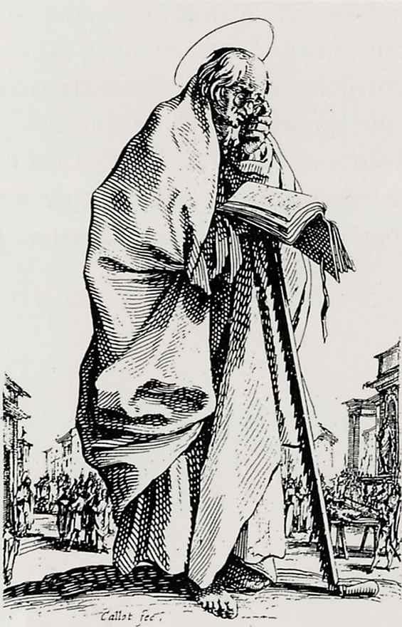 Жак Калло. Святой Симон