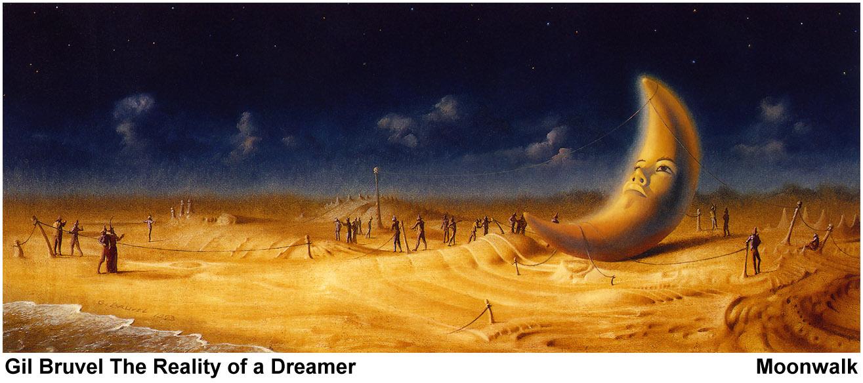 Гил Брювель. Лунная прогулка