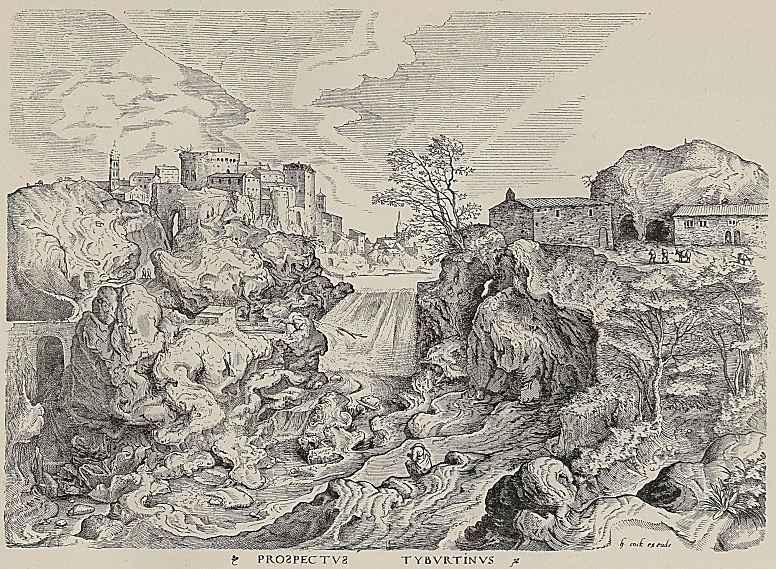 Питер Брейгель Старший. Святой Иероним в пустыне