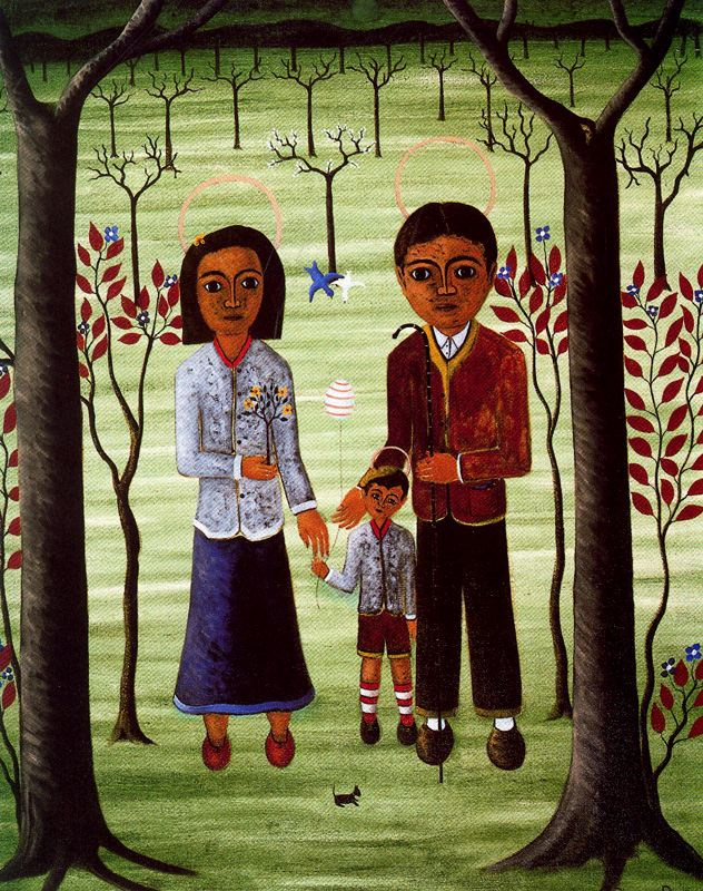 Miguel Rivera Bugurus. Parents