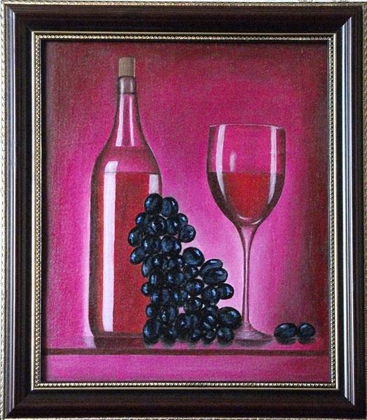 Victor Petrovich Burmin. Still Life with Wine # 11