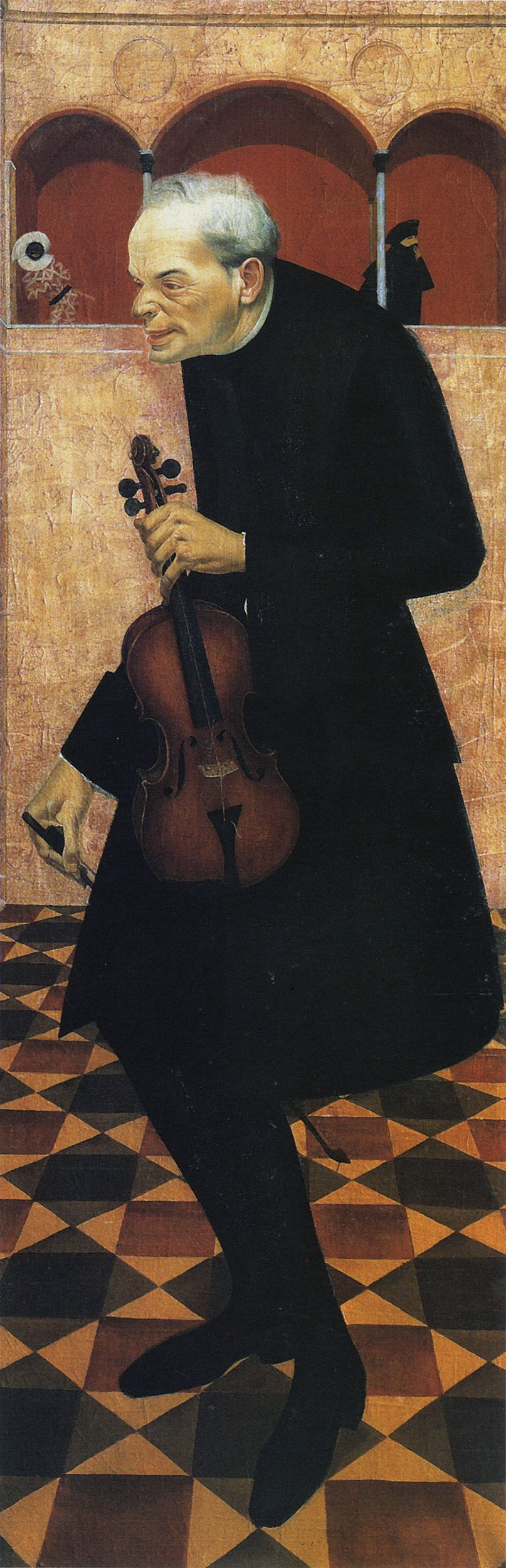 Alexander Yakovlev. Violinist. 1915