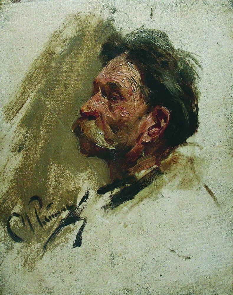 Илья Ефимович Репин. Портрет мужика