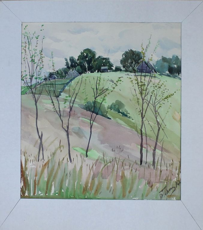 Reuben Filippovich Tupikin. Rural landscape
