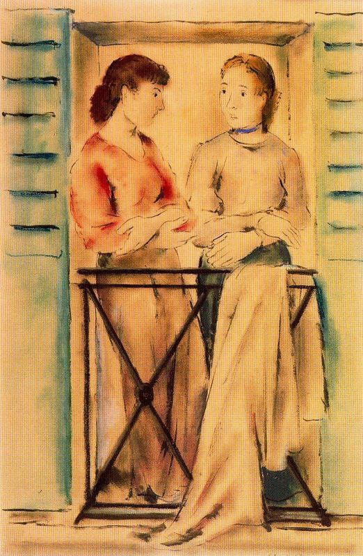 Sanchez Pedro. The talk of two women