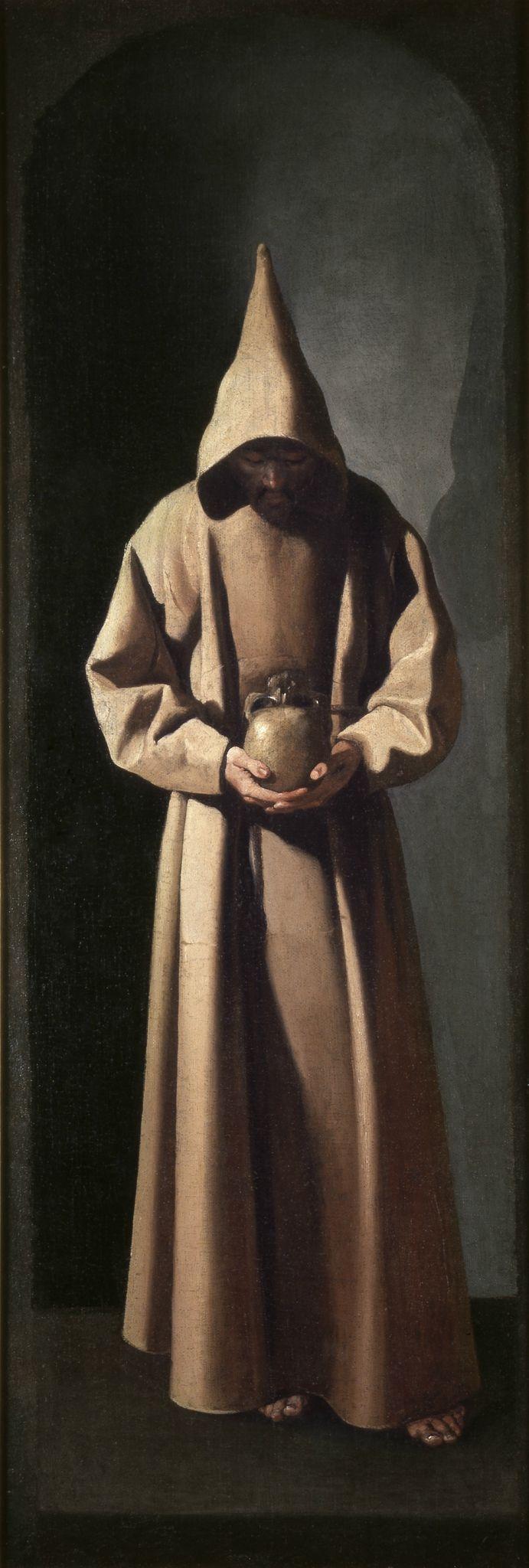 Франсиско де Сурбаран. Святой Франциск созерцающий череп