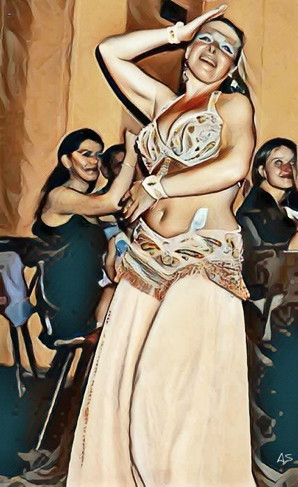 Alexios Shandermani. BELLY DANCE
