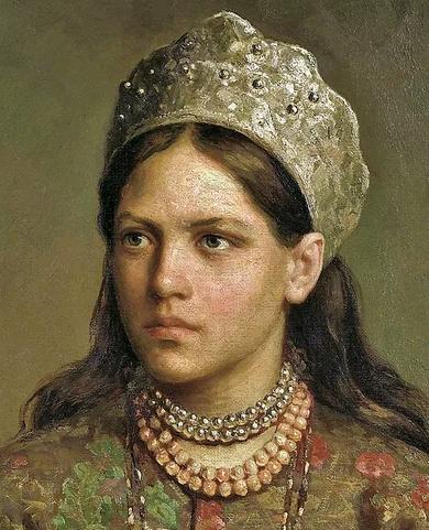 Firs Sergeevich Zhuravlev. Russian beauty