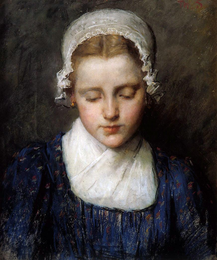 Тереза Шварц. Портрет девушки