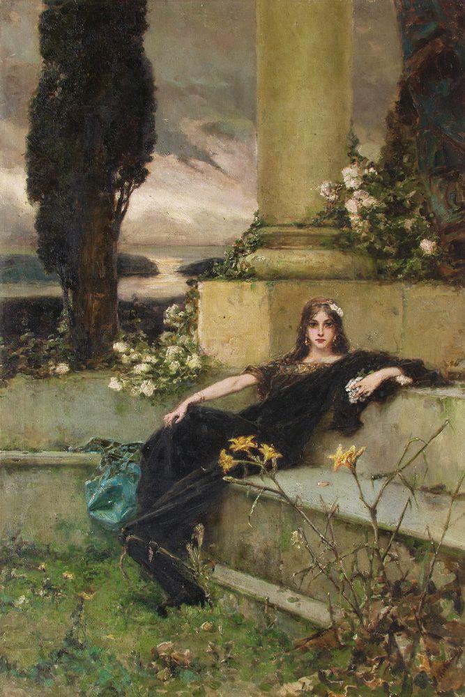 Wilhelm Kotarbinsky. Evening silence