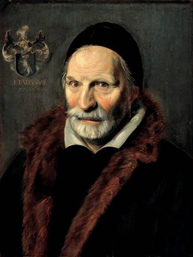 France Hals. Portrait Of Jacobus Hendricks Suffice