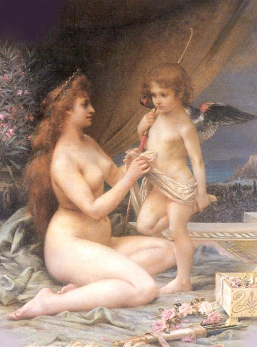 Анри Камиль. Афродита и Эрос
