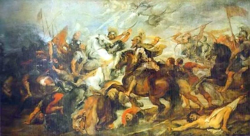 Питер Пауль Рубенс. Генрих IV в битве при Иври