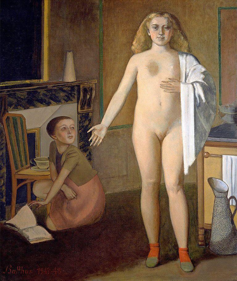 Balthus (Balthasar Klossovsky de Rola). Room