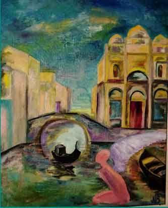 Надежда Борозенец. Ангел ускользающей Венеции