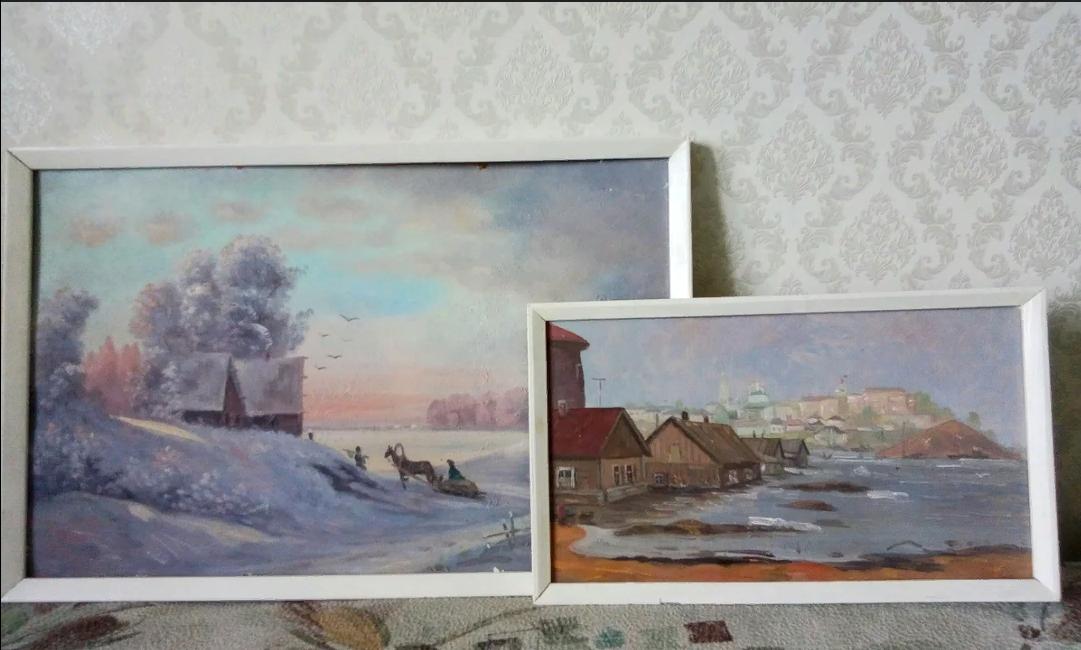 Анатолий Константинович Капранов. Волга