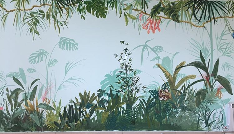 Анастасия Ораина. The painting of the Rio Children's Center