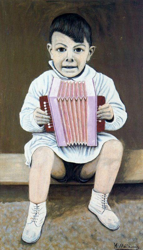 Хигинио Маллебрера. Ребенок-музыкант