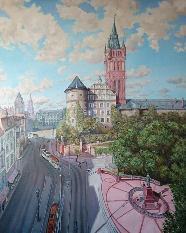 Evgeny Vladimirovich Terentyev. Koenigsberg. Royal Castle View