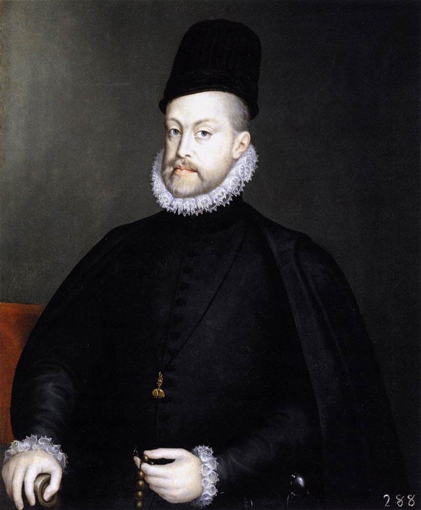 Alonso Sanchez Coello. Philip II