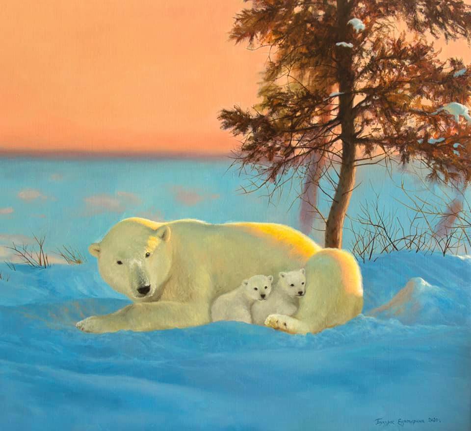 Katerina Bukuros. Мама-медведица