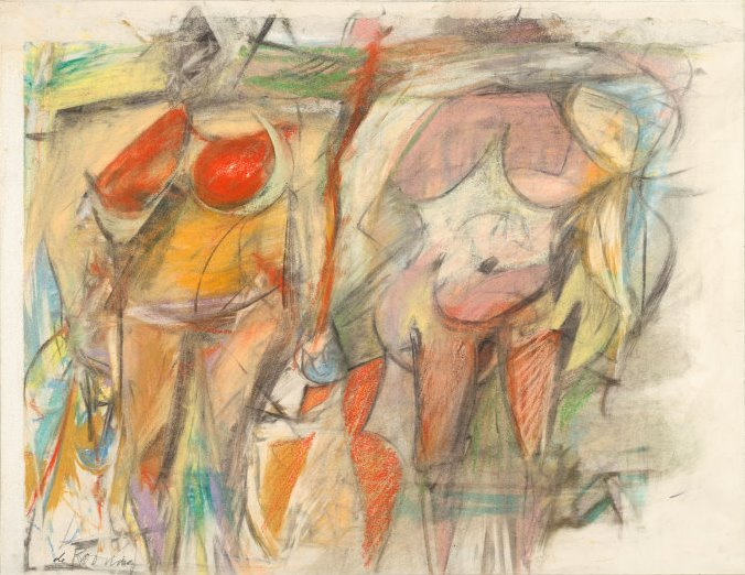 Willem de Kooning. Two women
