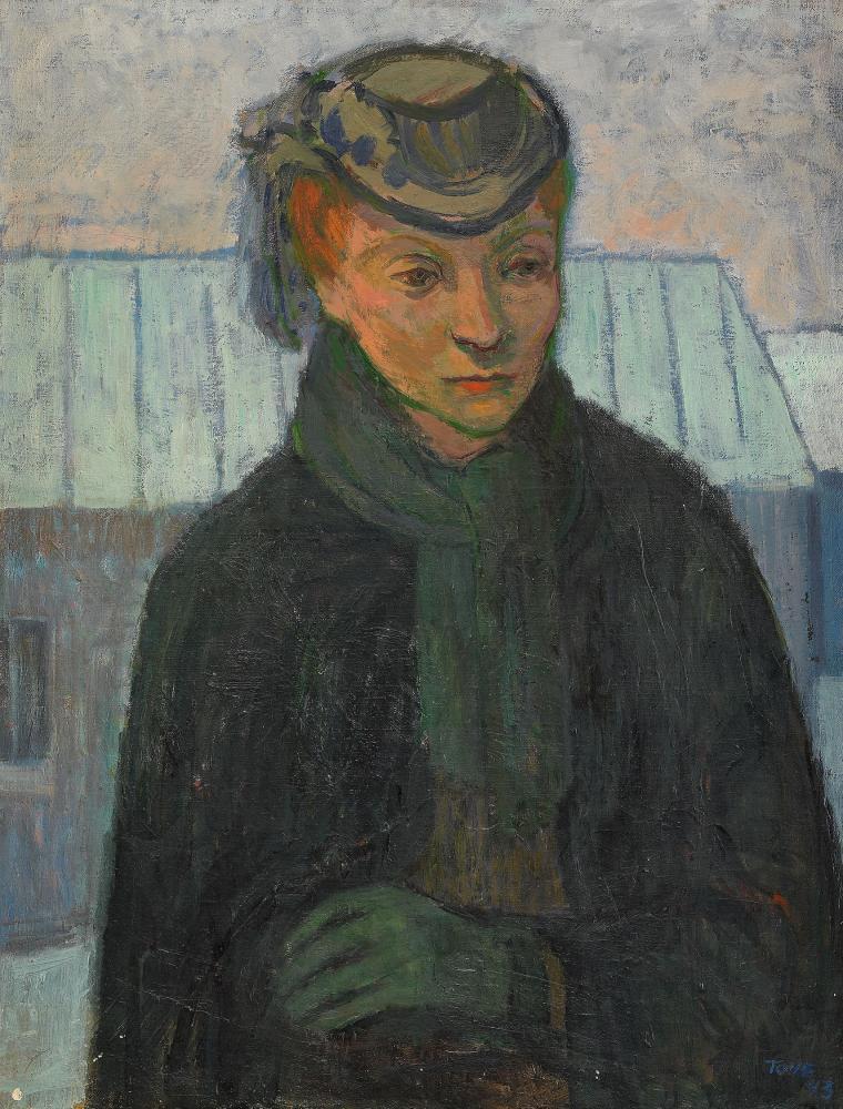 Туве Янссон. Женщина в черном