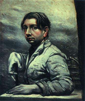 Джорджо де Кирико. Мужской портрет