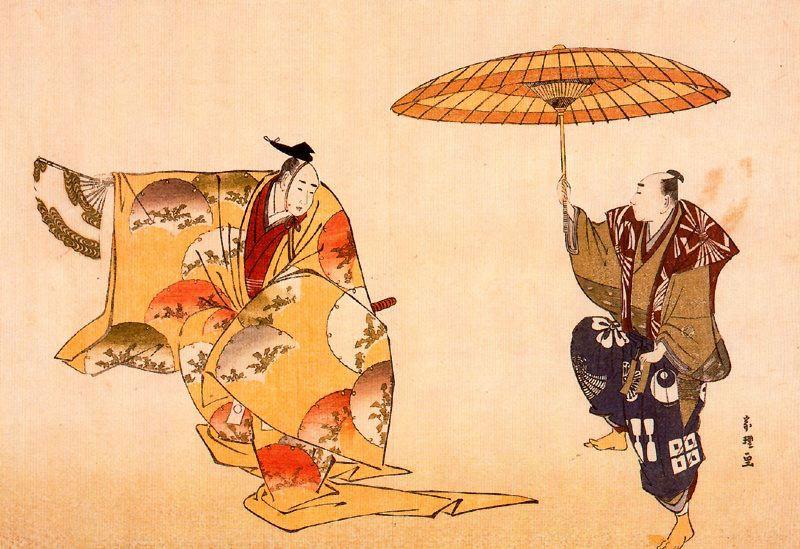Кацусика Хокусай. Нох Кёгэн