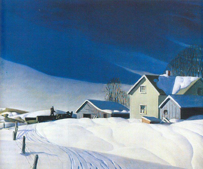 Дейл Николс. Зима