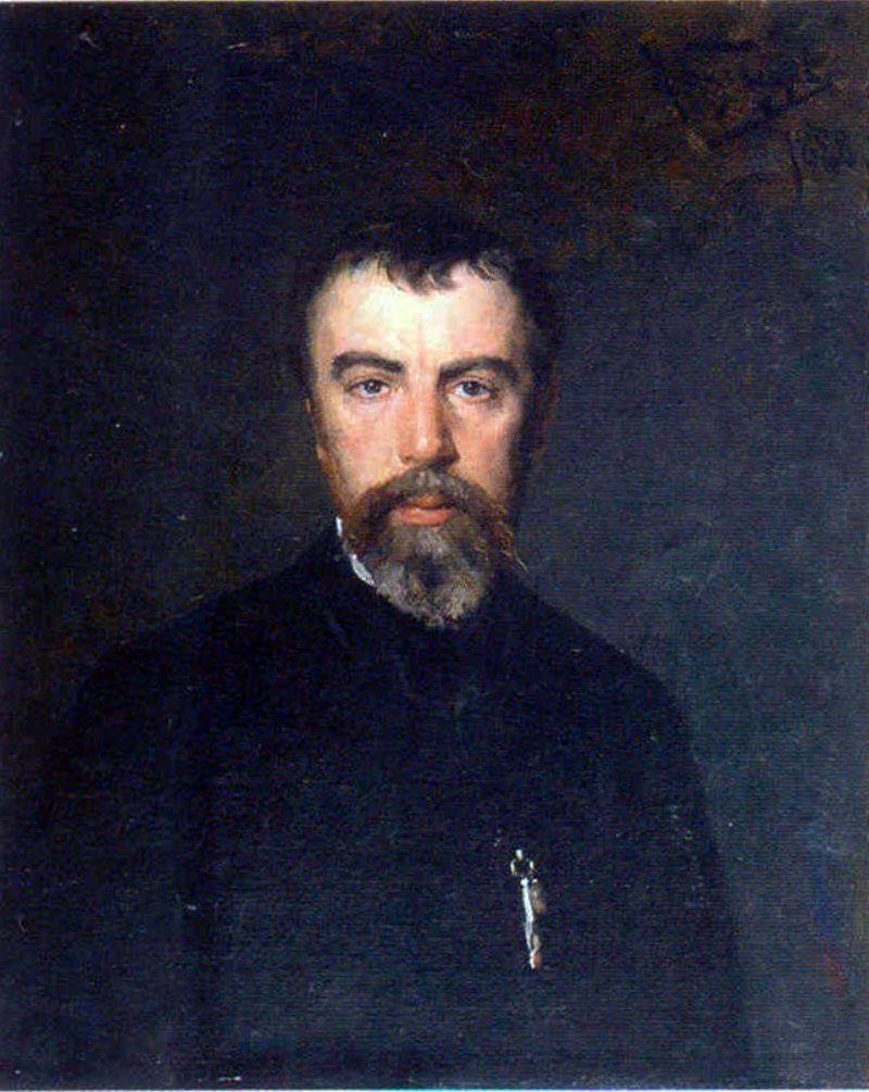 Николай Дмитриевич Кузнецов. Портрет художника Василия Дмитриевича Поленова