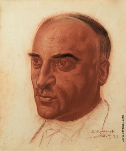 Vasily Ivanovich Shukhaev. Portrait of Gavril G. Paichadze. 1933