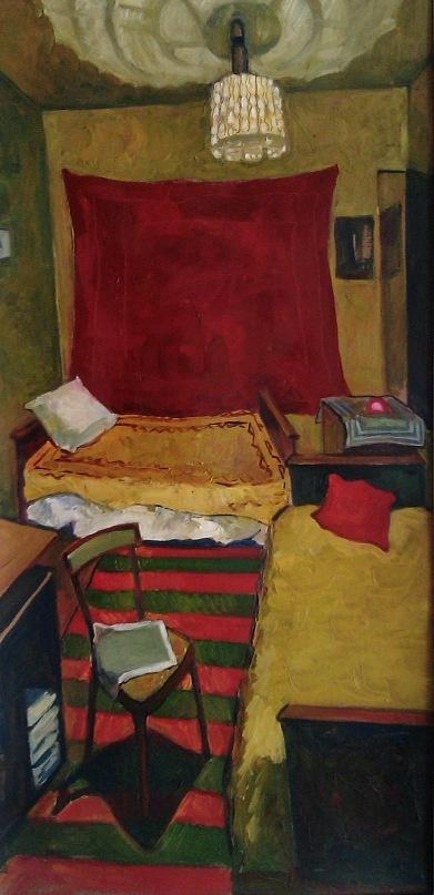 Artem Zavadsky. Artist's room in O (A) rle