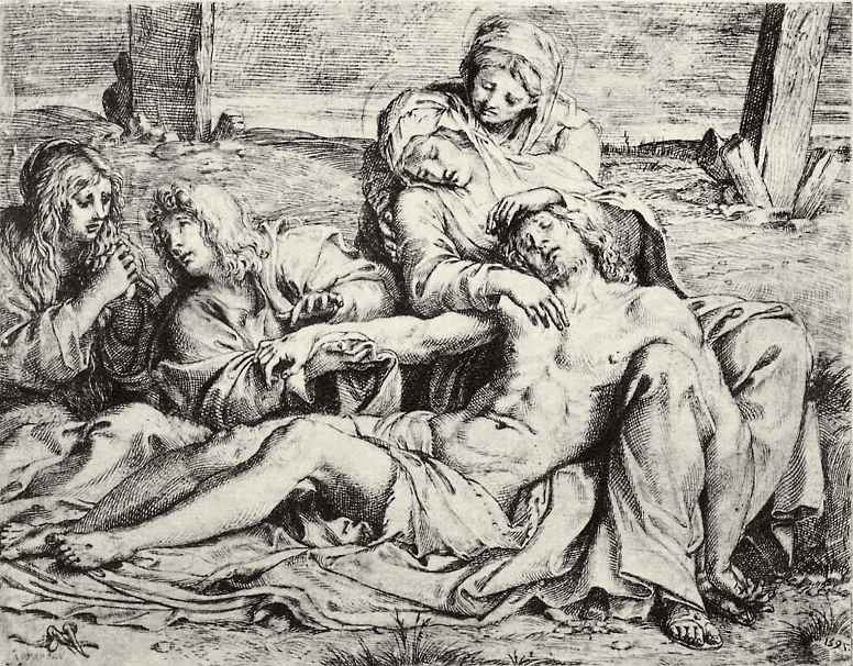 Annibale Carracci. Mourning