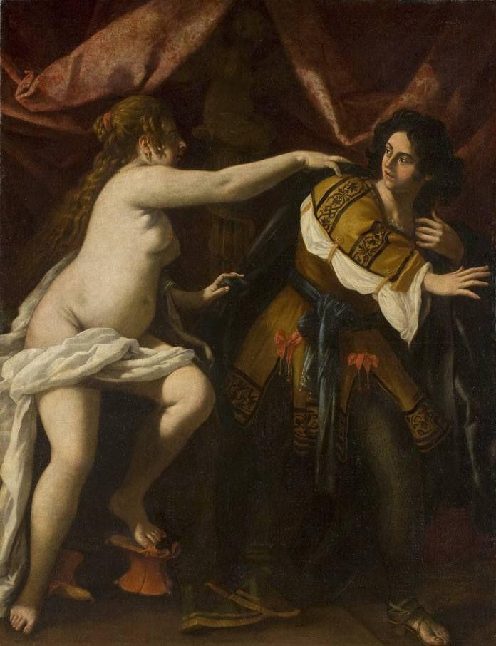 Джованни Бальоне (Баглионе). Иосиф и жена Потифара